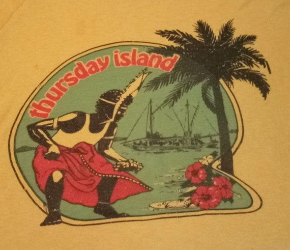 70's Vintage Thursday Island, Are You From TI? Yel