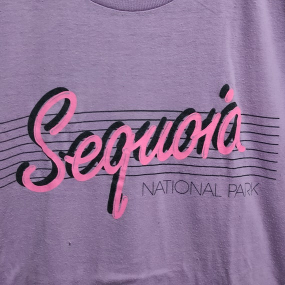 80s Vintage Sequoia National Park T-Shirt