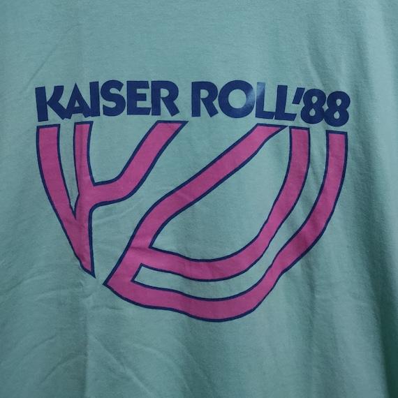 80's Vintage 1988 Kaiser Roll Marathon T-shirt