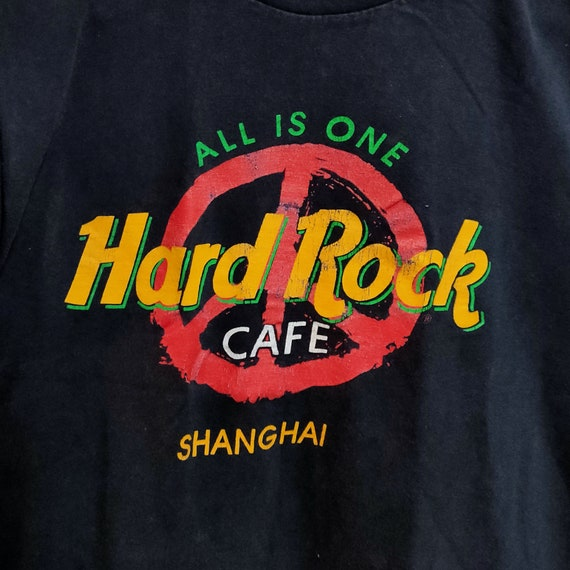 90's Vintage Hard Rock Cafe Shanghai All Is One Pe