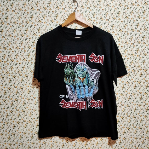 80's Vintage 1988 Iron Maiden Seventh Son of A Se… - image 2