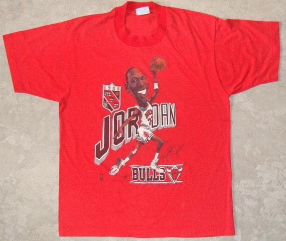 michael jordan caricature shirt