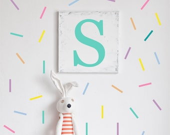 Sprinkles Wall Decals // Peel and Stick Confetti // Nursery Decor //  Renters Wall Paper // Playroom Art // Bedroom Wall Stickers