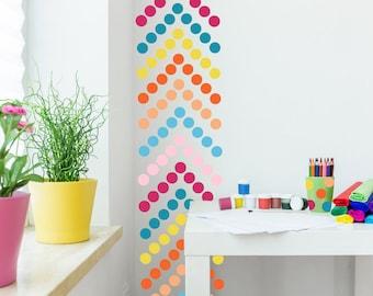 Polka Dot Wall Decal  //  Polka Dots Decals // Nursery Wall Decor // Polka Dot Stickers // Nursery Art // Stickers // Nursery Decor
