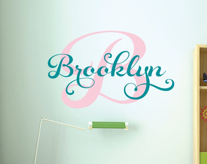 Vinyl Lettering, Monogram Wall Decal, Name Sign, Kids Room Decor, Name Wall Decals, Custom Signs, Girl Name Decal, Teen Preteen Girls, Baby