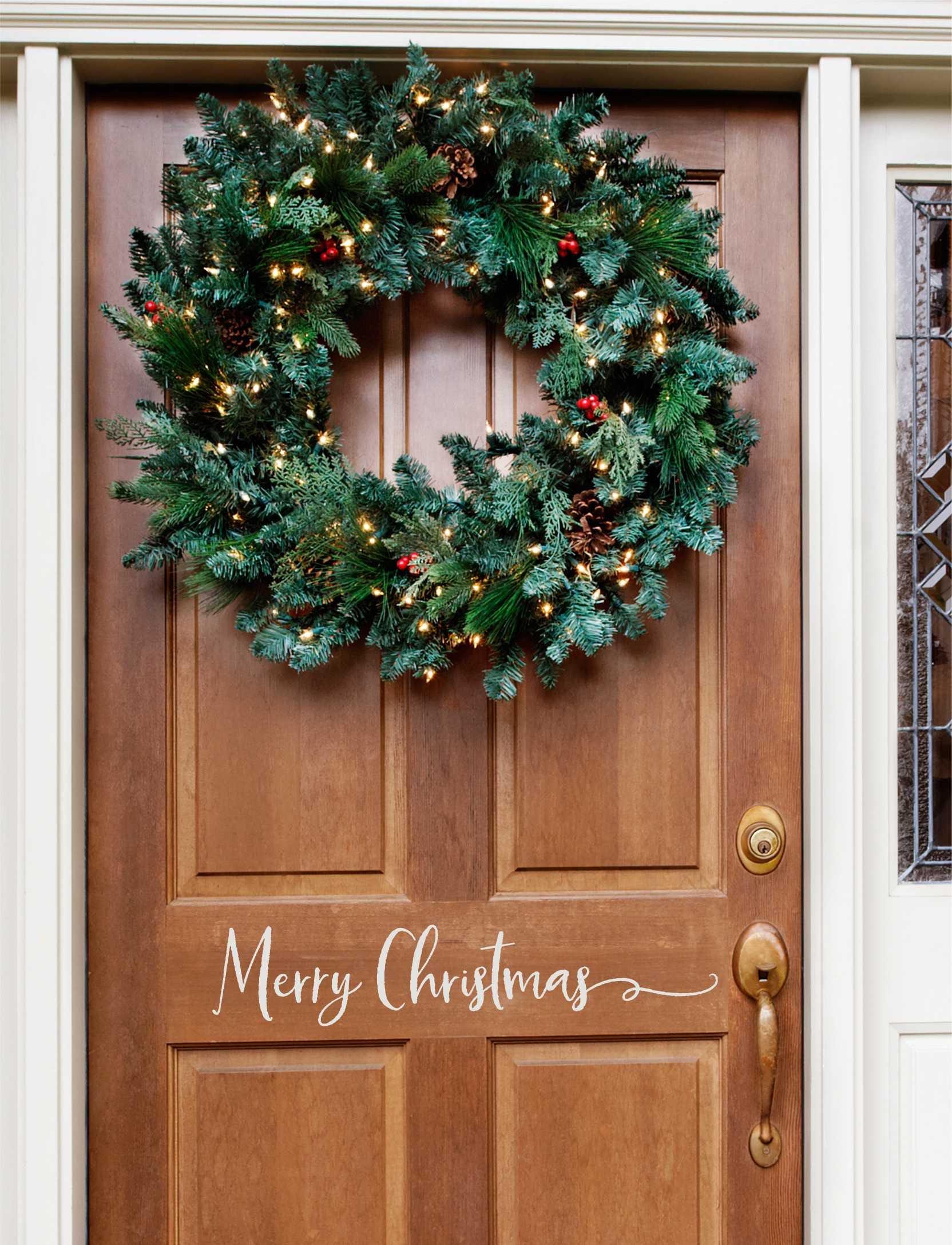... Front Door Christmas Vinyl. Gallery Photo Gallery Photo Gallery Photo  ...