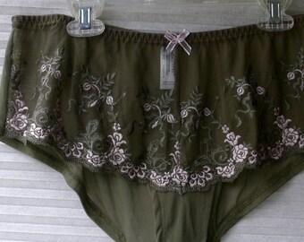 c53e2abb6 plus size panties 1xdelta burke sage green