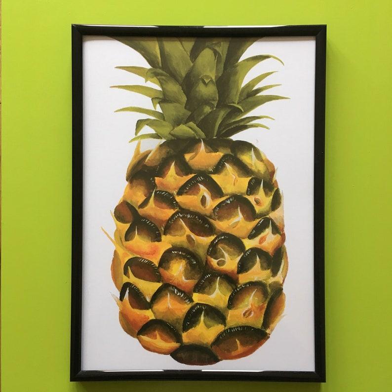 A4 Pineapple Print image 0