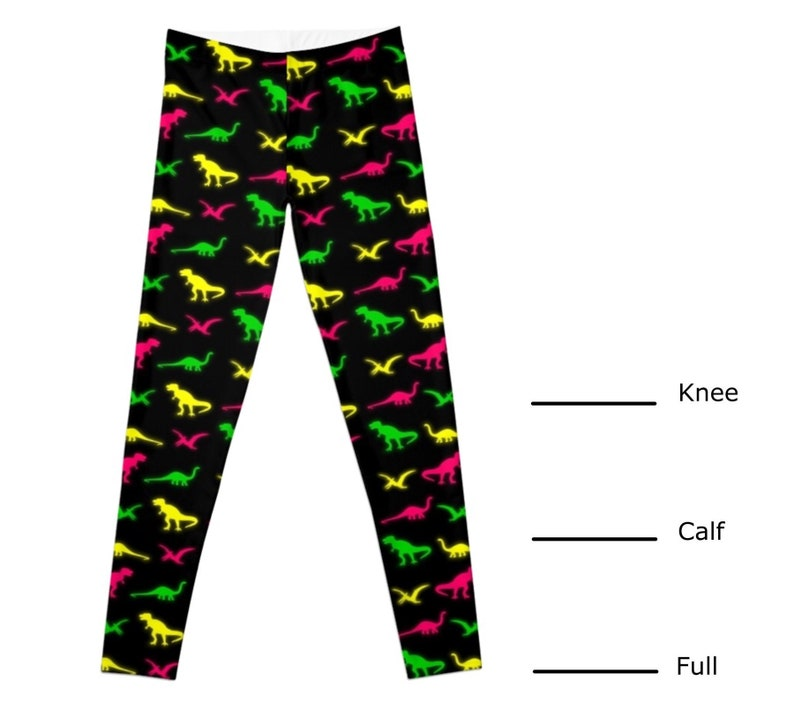 Dinosaur Leggings 3 Lengths