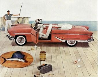 fc2ae228ca06a 1960 Thunderbird Car Advertisement Thunderbird Rendezvous | Etsy