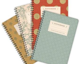Set of 4 Notebooks A5 – Patterns