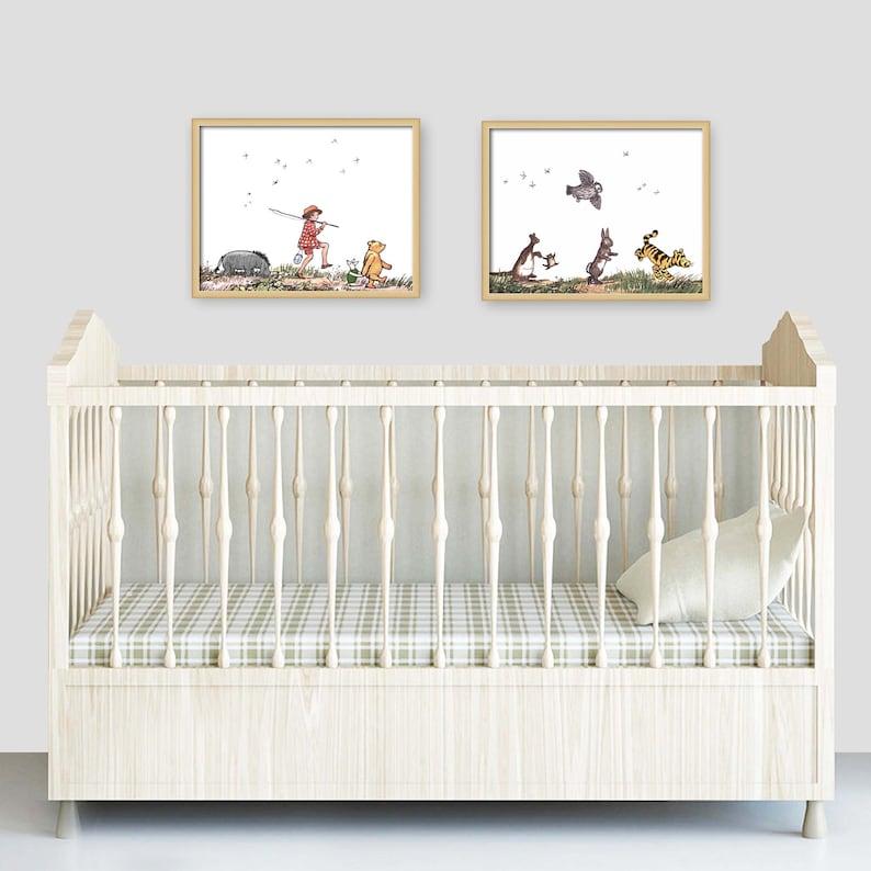 Klassische Winnie der Pooh Set 8 x 10 jungen Zimmer | Etsy