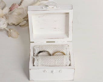 Rustic Ring Bearer Box Personalized Choice, The Best Thing To Hold onto in Life is Each Other, We do, I Do, Love