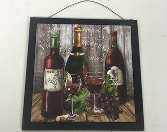 Wine Wall Decor Etsy