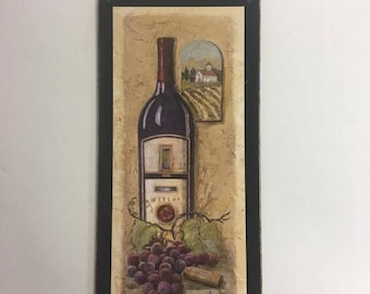 Wine Wall Decor Etsy