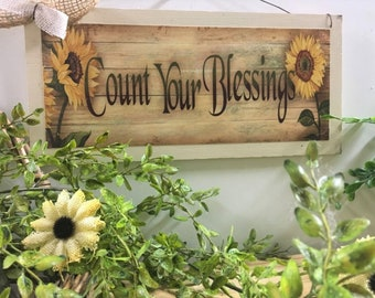 Country Sunflowers Etsy