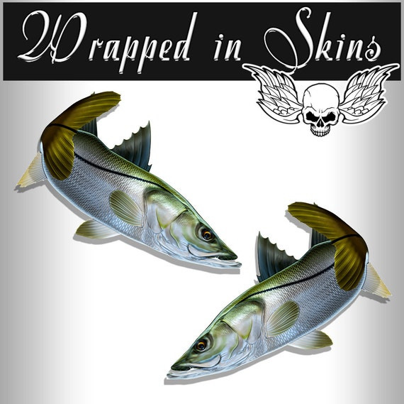 Redfish Decals Fishing Stickers Tackle Box RV Truck Camper Trailer AFP-0053