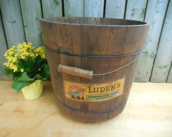 Antique Advertising Store Container by VeriGood