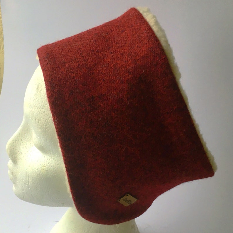 NEW TWEED FLEECE LINED SOFT LADIES HEAD BAND EAR WARM SOFT SHERPA GIFT WINTER