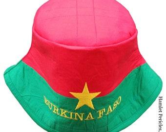 4141fc0e451ce Jamaica Flag Black-top Bucket Hat Country Hat Jamaica Flag