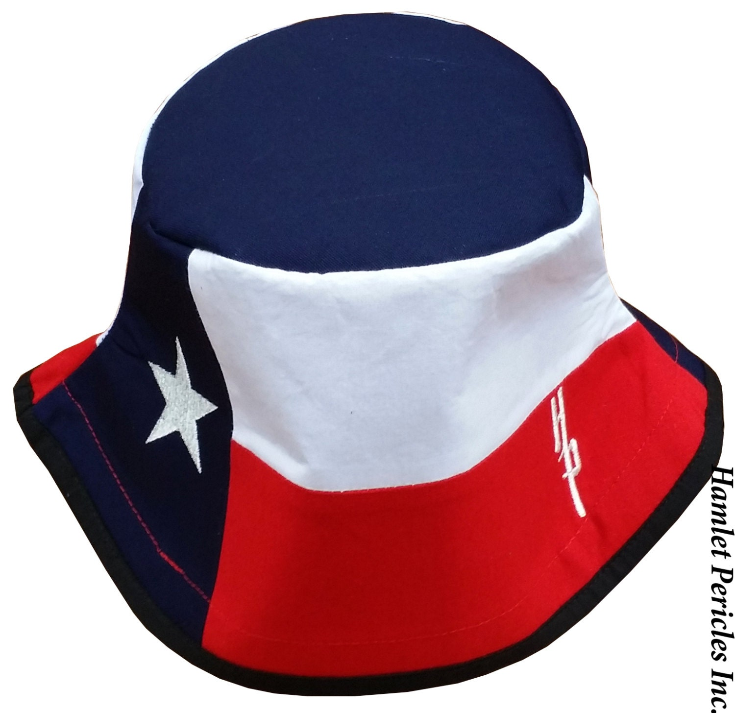 847a1f7157a Texas state flag blue top bucket hat texas flag etsy jpg 1500x1455 Custom puerto  rican bucekt