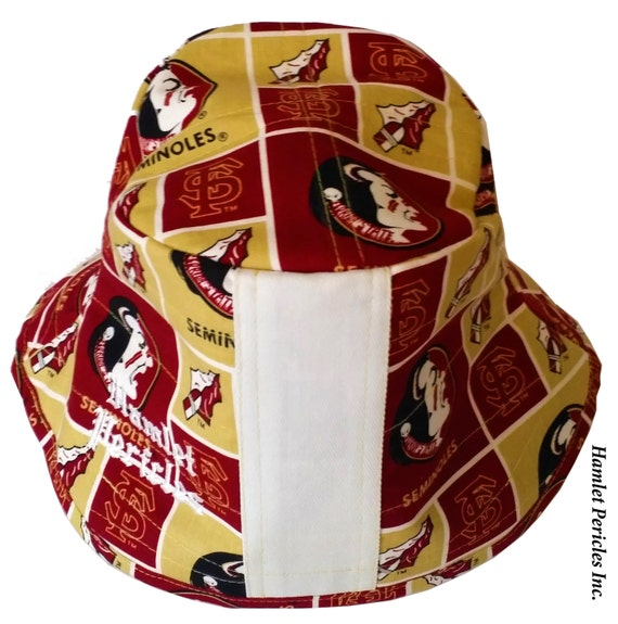 FSU White-stripe Bucket Hat Florida State University  e265989b00c