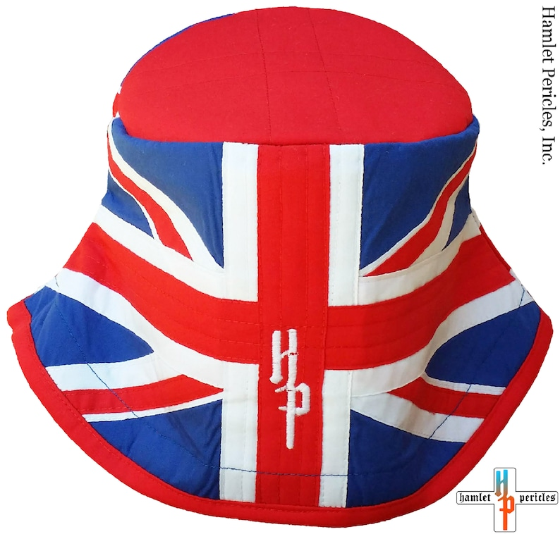 aadb05a7a85 United Kingdom Flag Bucket Hat UK Hat Union Jack Hat