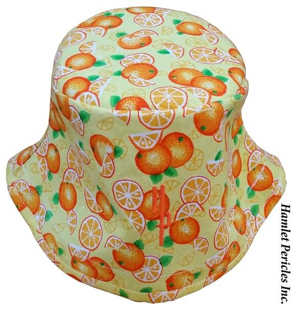 Orange-fruit Unisex Bucket Hat Oranges Nature Slices of  d605bceb6b3