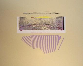 Seaside / 16x20 limited edition screenprint