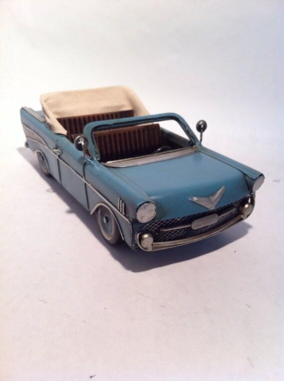 Retrò classico di Latta Modello Auto giocattolo in miniatura da collezione Home Room Decor