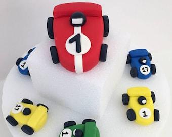 Race Car Cake Topper , Racecar Cake topper , Car Cake Topper