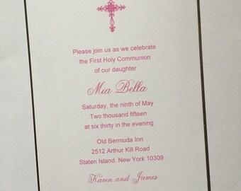 The Mia//Communion Invitation