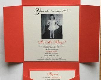 Patsy// seal and send invitation