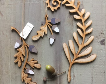 Beautiful Autumn Themed Woodland Decorations  Free U.K. Delivery