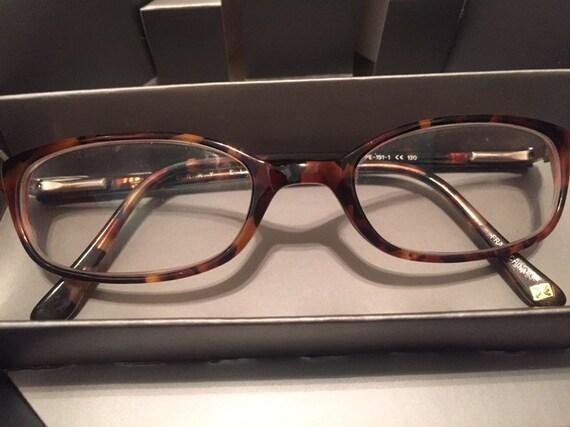 Vintage Perry Ellis ladies eyeglasses 130 faux tor