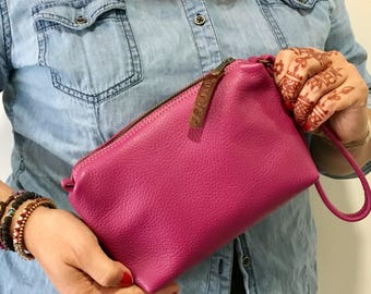 "Handmade clutch - ""Friday"" bag"