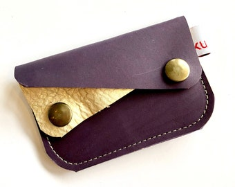 PURPLE & GOLD River wallet