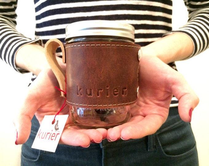 Kurier Camp Mug - rustic brown