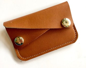 VINTAGE TAN River wallet