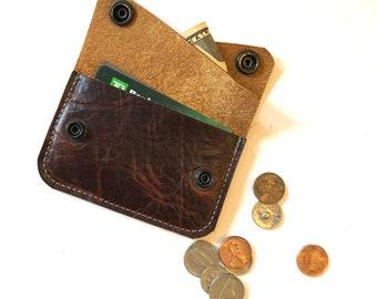 Double pocket RIVER wallet