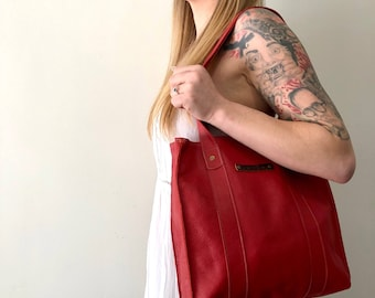 MARIA - Handmade leather day tote