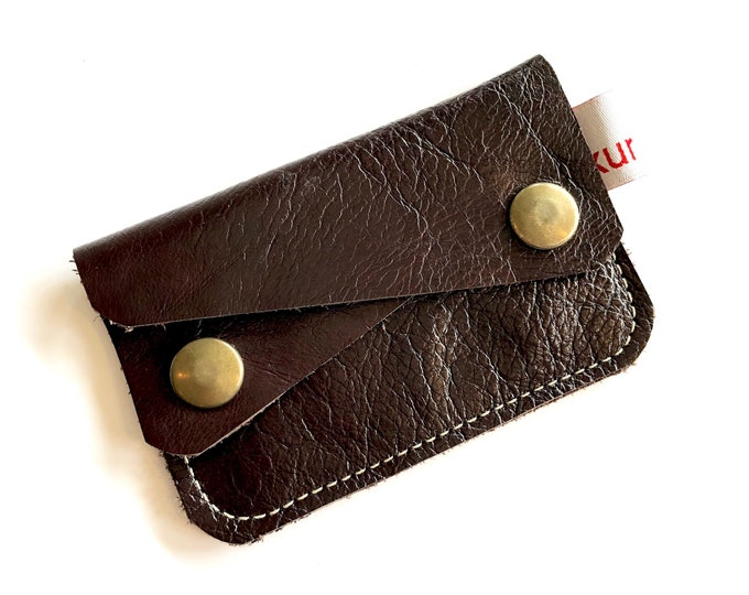 DARK BROWN River wallet