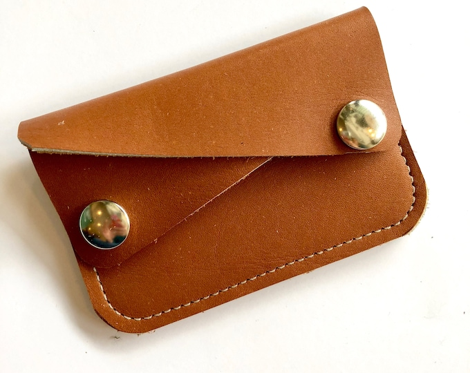 VINTAGE TAN River wallet