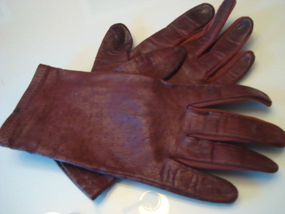 Dreamcatcher Rhodochrosit of fine leather strap