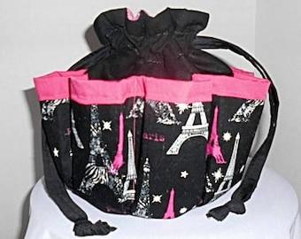 Eiffel Tower Paris Bingo Bag, Great Christmas, birthday, Mother s Day gift  Great Drawstring Craft or Makeup Organizer 4498a66760