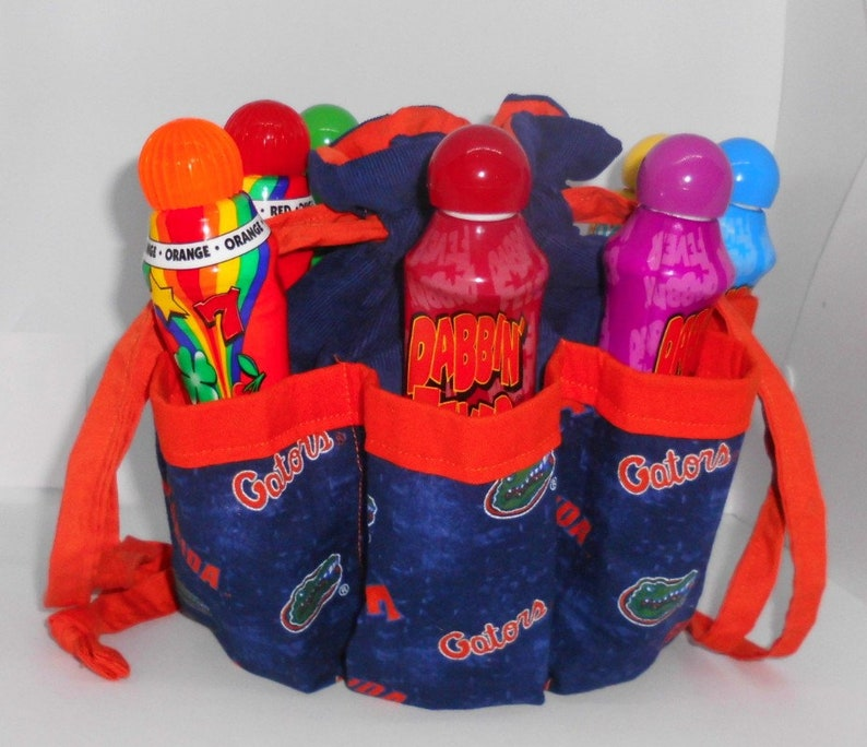 a34f9adb Personalize it! University of FL Gators Bingo Bag, Great Birthday,  Christmas, Mother's Day Gift Good drawstring craft or makeup organizer,