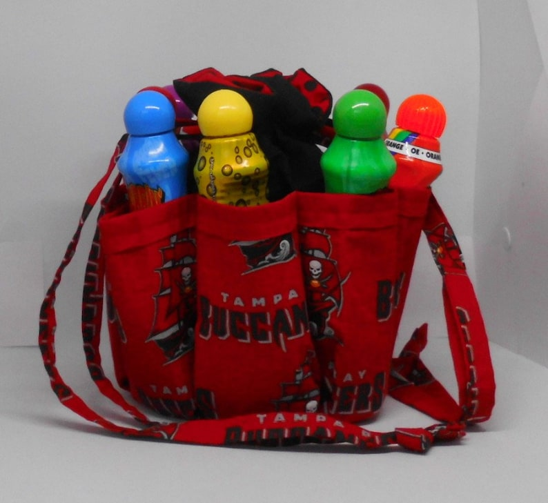 1c7af1a9 Personalize it!! Tampa Bay Buccaneers Bingo Bag. Great birthday, Christmas  or Mother's Day gift Great Drawstring Craft or Makeup Organizer