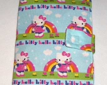 Hello Kitty Rainbow Doodle Wallet/Crayon Wallet - Perfect for stocking stuffer, Christmas, birthday, party favor and more!
