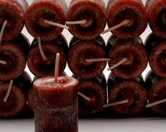 DRAGONS BLOOD Votive Candle Wiccan Pagan Metaphysical Buy 5, get a FREE Votive Holder