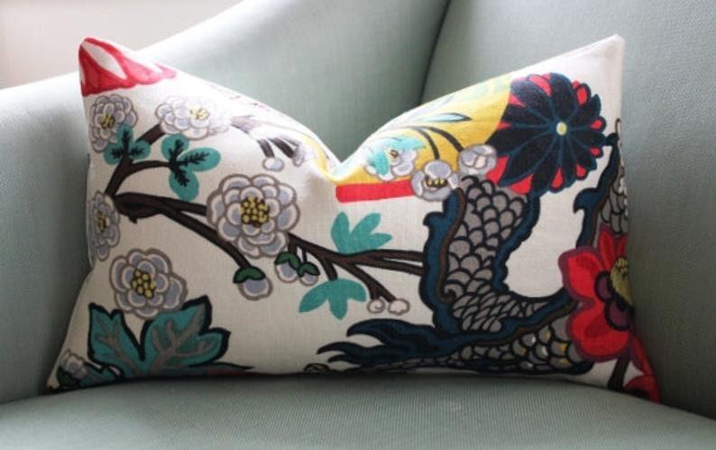 Schumacher Chiang Mai Pillow Cushion Covers